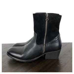 H by Hudson Riley Double Zip Moto Boots